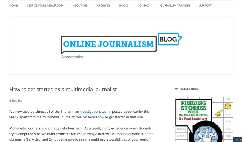 Online Journalism Blog